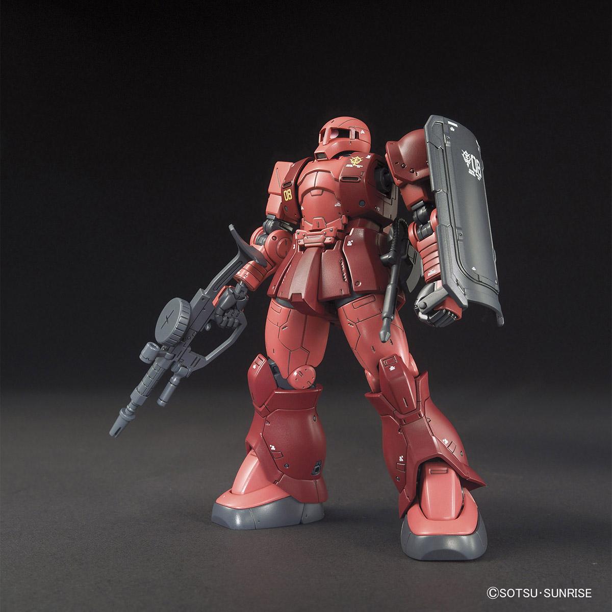 HG 1/144 MS-05 ザクI(シャア・アズナブル機)[TheORIGIN] [Zaku I (Char Aznable Unit)]