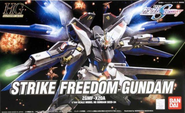 HG 1/144 ZGMF-X20A ストライクフリーダムガンダム パッケージアート