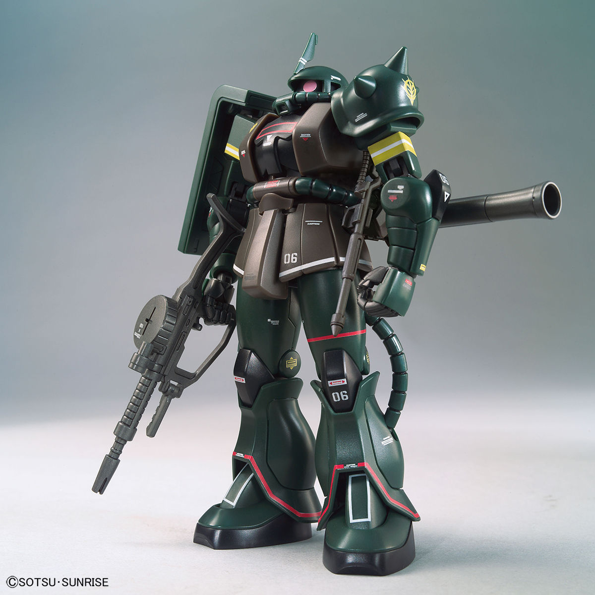 HG 1/144 ガンダムベース限定 ザクII(21stCENTURY REAL TYPE Ver.)