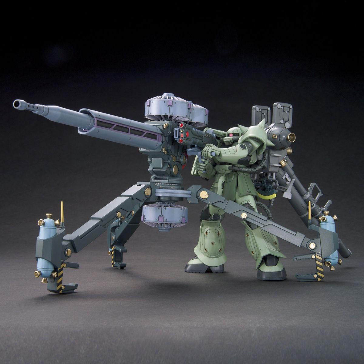 837HG 1/144 MS-06 量産型ザク+ビッグ・ガン(ガンダム サンダーボルト版) [Zaku II & Big Gun (Thunderbolt Manga Ver.)]