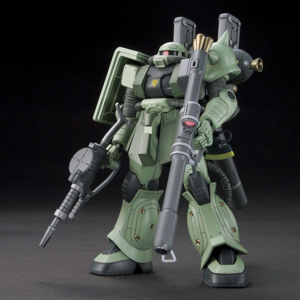 HGTB 1/144 MS-06 量産型ザク(ガンダム サンダーボルト版) [Zaku II (Thunderbolt Manga Ver.)]