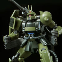 HG 1/144 MS-06K ザク・キャノン [Zaku Cannon] 公式画像5