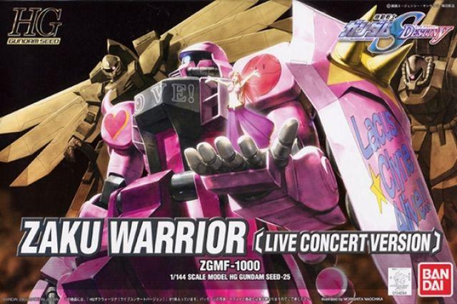 HG 1/144 ZGMF-1000 ザクウォーリア(ライブ・コンサートver.) [ZAKU Warrior Live Concert Ver.]