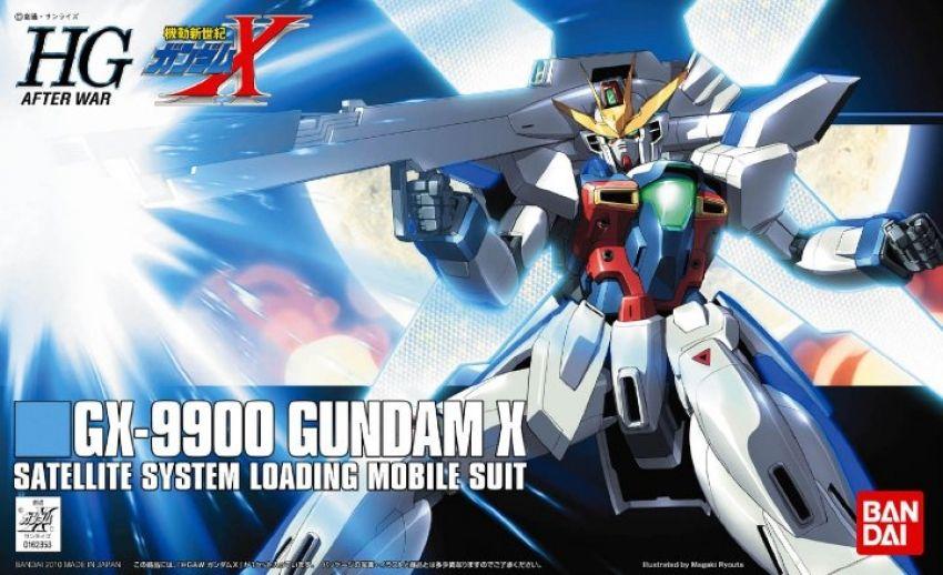 HGAW 1/144 GX-9900 ガンダムX [Gundam X] パッケージアート