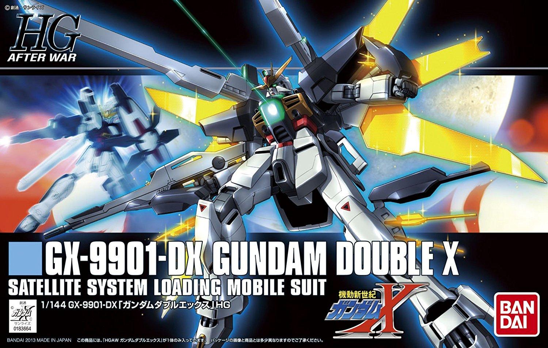 HGAW 1/144 GX-9901-DX ガンダムダブルエックス [Gundam Double X] 0183664 5059166 4543112836649 4573102591661