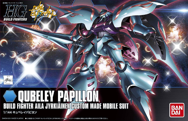 HGBF 1/144 NMX-004 キュベレイパピヨン [Qubeley Papillon] パッケージアート