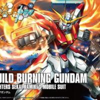 HGBF 1/144 BG-011B ビルドバーニングガンダム [Build Burning Gundam] パッケージ