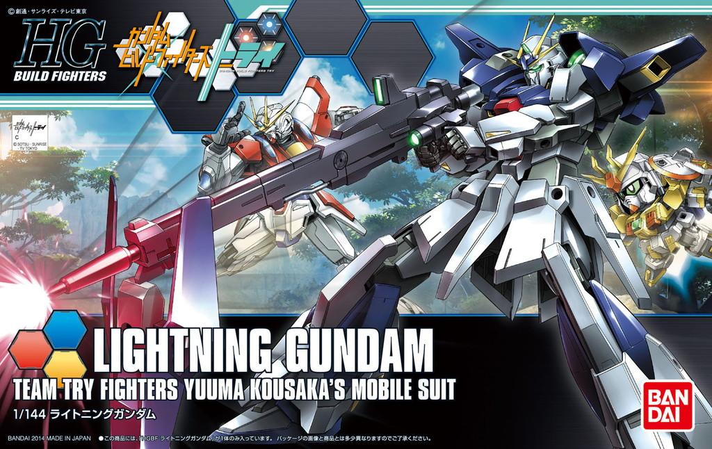 HGBF 020 1/144 LGZ-91 ライトニングガンダム [Lightning Gundam]