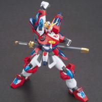 HGBF 1/144 KMK-B01 カミキバーニングガンダム [Kamiki Burning Gundam] 公式画像2