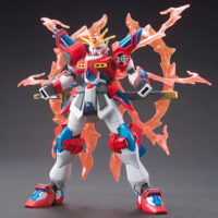 HGBF 1/144 KMK-B01 カミキバーニングガンダム [Kamiki Burning Gundam] 公式画像4