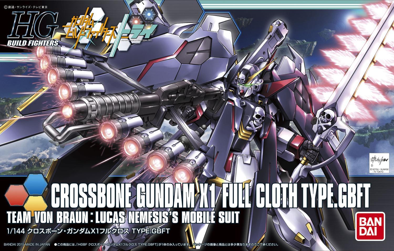 HGBF 1/144 XM-X1 クロスボーンガンダムX1フルクロスVer.GBF [Crossbone Gundam X-1 Full Cloth Type.GBFT] 5057720 0196431 4573102577207 4543112964311