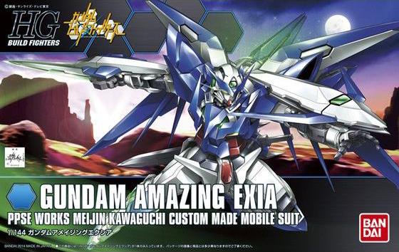 HGBF 1/144 PPGN-001 ガンダムアメイジングエクシア [Gundam Amazing Exia]