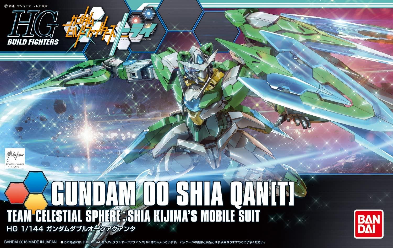 HGBF 1/144 GNT-0000SHIA ガンダムダブルオーシアクアンタ [Gundam 00 Shia Qan[T]] 0209075 5059564 4573102595645 4549660090755