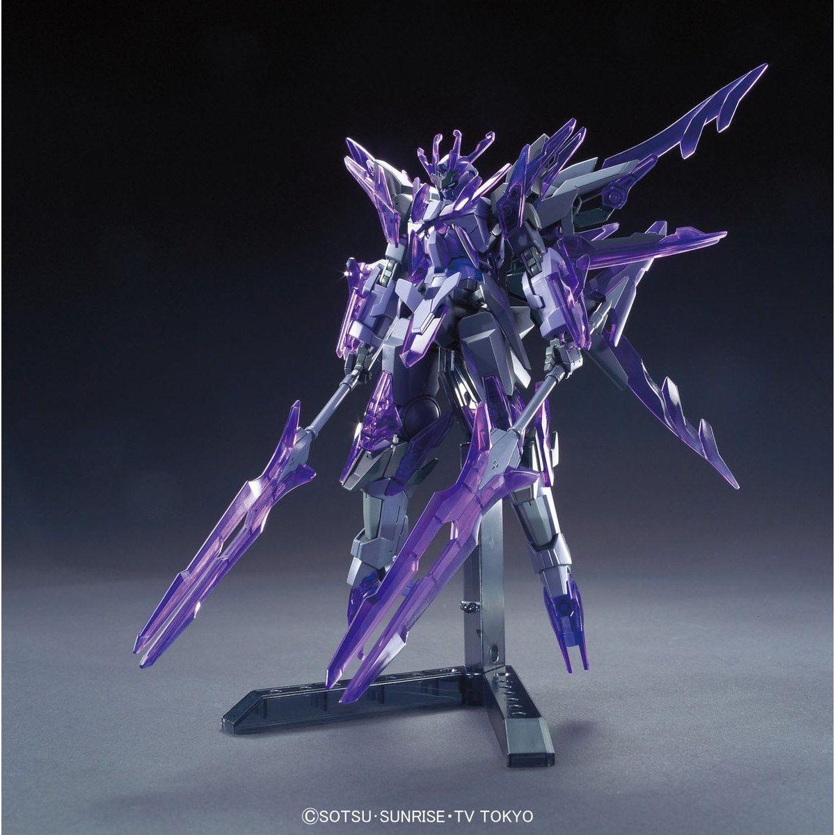 37677HGBF 1/144 GN-10000 トランジェントガンダムグレイシャー [Transient Gundam Glacier] 0211947 5055443