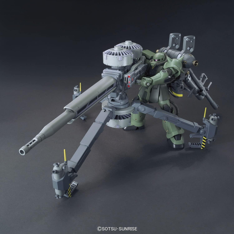 16496HGTB 1/144 MS-06 量産型ザク+ビッグ・ガン(GUNDAM THUNDERBOLT Ver.) [Zaku II & Big Gun (Gundam Thunderbolt ONA Ver.)]