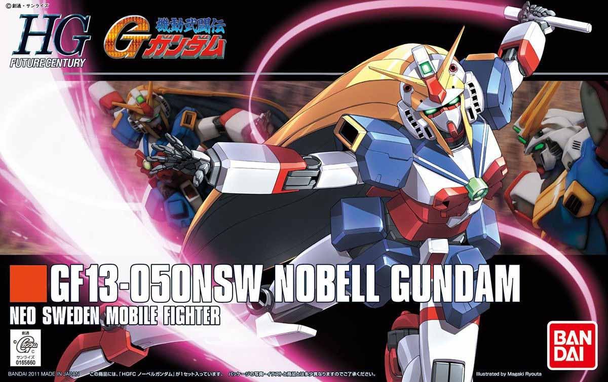 HGFC 1/144 GF13-050NSW ノーベルガンダム [Nobell Gundam] 0165660 5055720