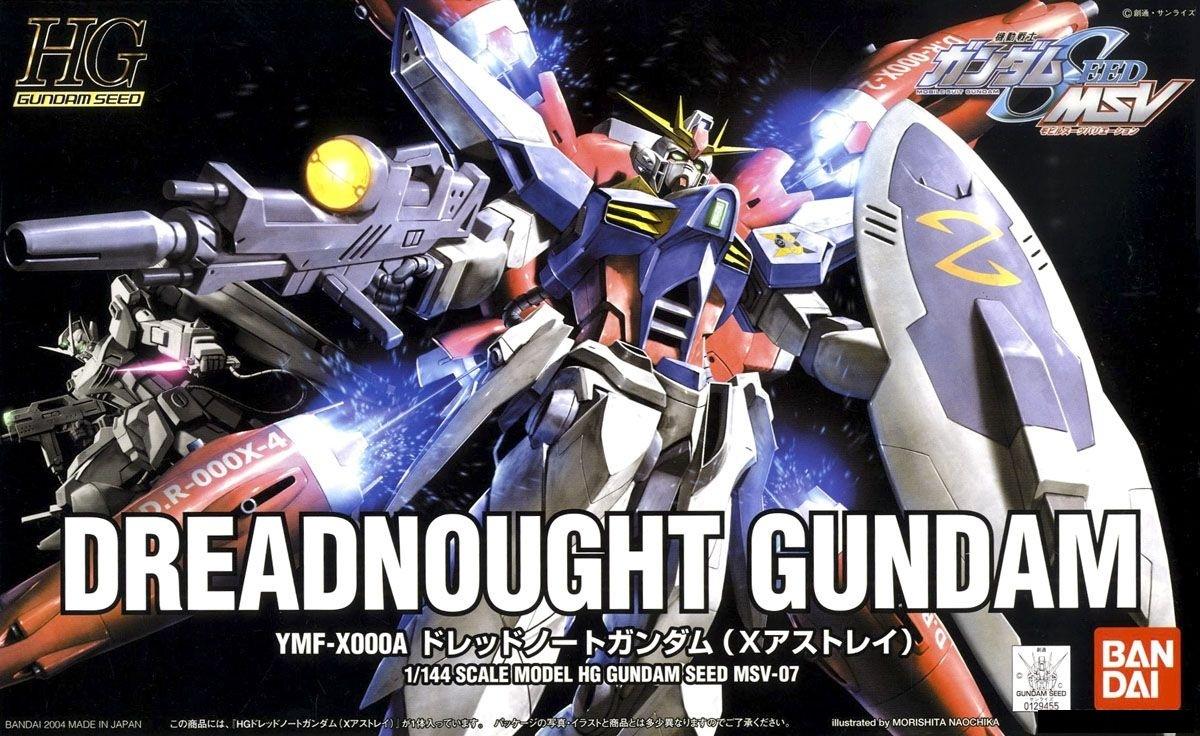 HG 1/144 YMF-X000A ドレッドノートガンダム(Xアストレイ) [Dreadnought Gundam (X Astray)] 0129455 5056814