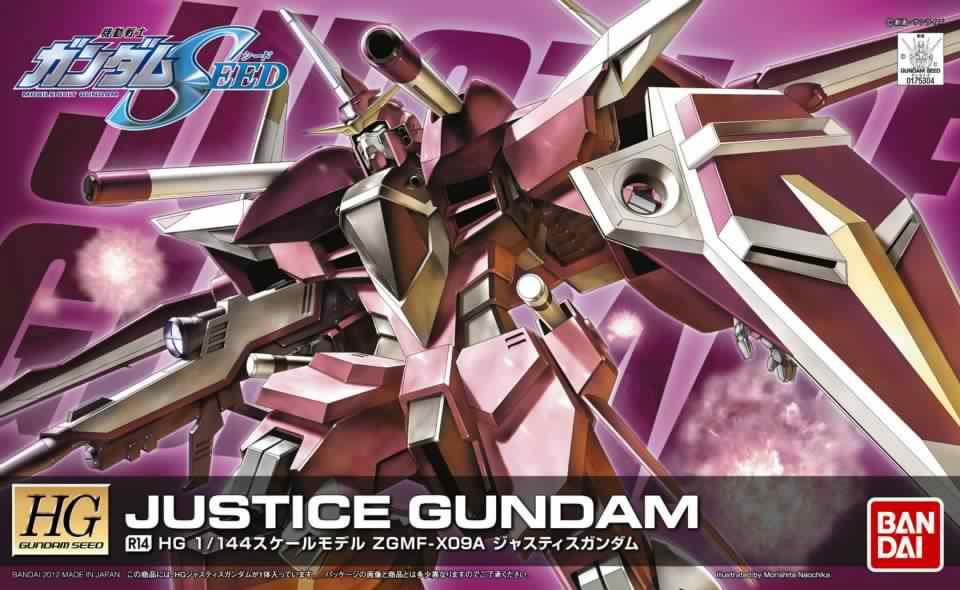 HG 1/144 R14 ZGMF-X09A ジャスティスガンダム [Justice Gundam]
