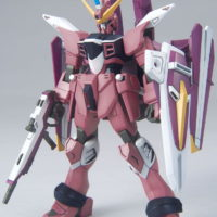 HG 1/144 R14 ZGMF-X09A ジャスティスガンダム [Justice Gundam] 素組画像