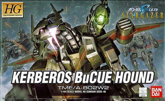 HG 1/144 TMF/A-802W2 ケルベロスバクゥハウンド [Kerberos BuCUE Hound]