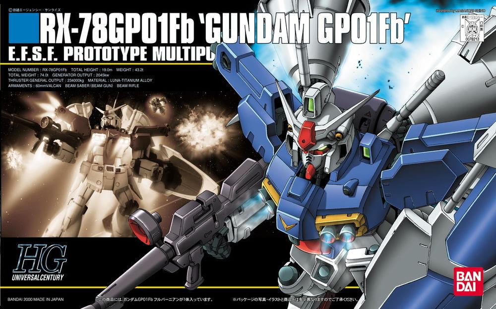 HGUC 1/144 RX-78GP01Fb ガンダムGP01Fb フルバーニアン [Gundam GP01Fb]