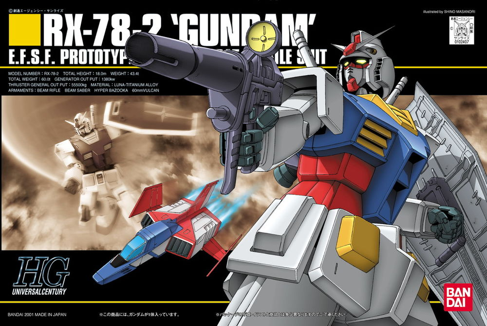 HGUC 1/144 RX-78-2 ガンダム [Gundam]
