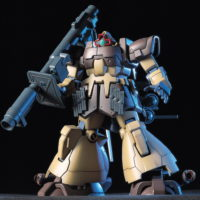 HGUC 1/144 MS-09F ドムトローペン サンドブラウン [Dom Tropen (Kimbareid Forces colors)] 5060393 0107723 4573102603937 4543112077233