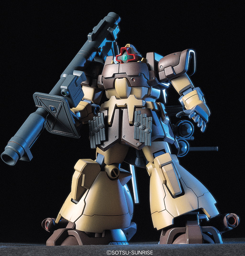 355HGUC 1/144 MS-09F ドムトローペン サンドブラウン [Dom Tropen (Kimbareid Forces colors)] 5060393 0107723 4573102603937 4543112077233