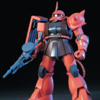 HGUC 1/144 MS-06S シャア専用ザク [Zaku II Commander Type (Char Aznable custom)] 5058888 0112814 4573102588883 4543112128140