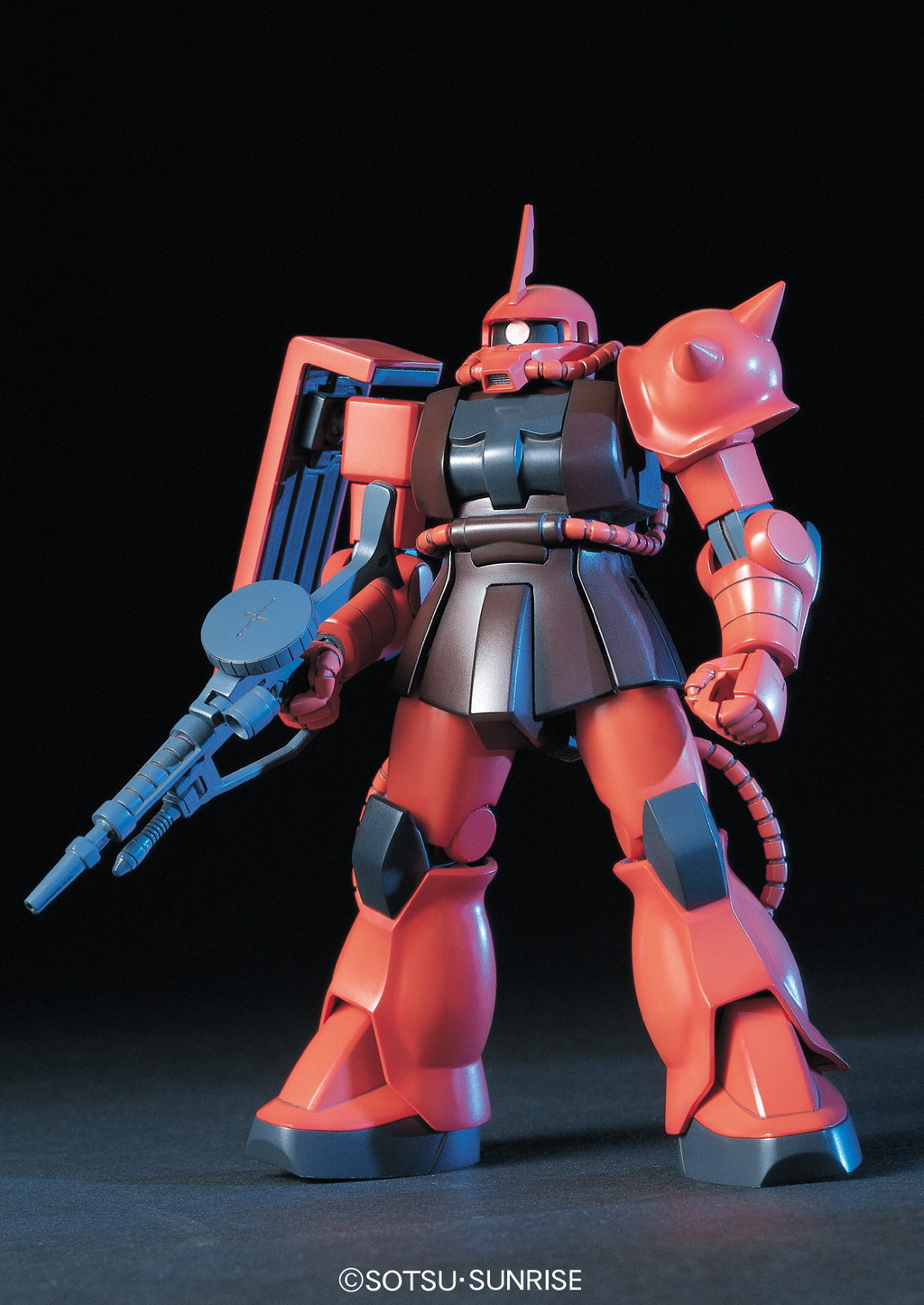 HGUC 1/144 MS-06S シャア専用ザク [Zaku II Commander Type (Char Aznable custom)] 5058888 0112814 4573102588883