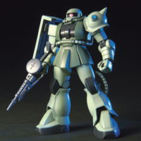HGUC 1/144 MS-06 量産型ザク [Zaku II]( ザクⅡ) 素組画像