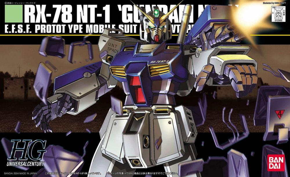 HGUC 1/144 RX-78 NT-1 ガンダムNT1〈アレックス〉 [Gundam NT1]