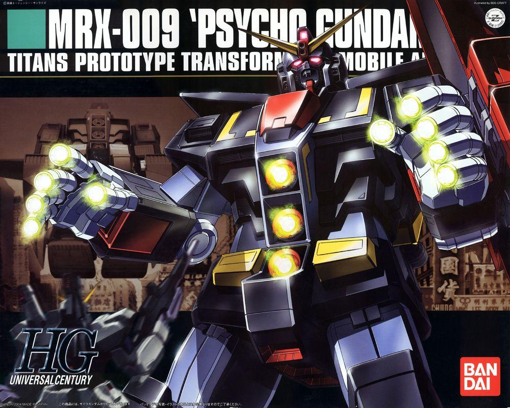 HGUC 1/144 MRX-009 サイコガンダム [Psycho Gundam]