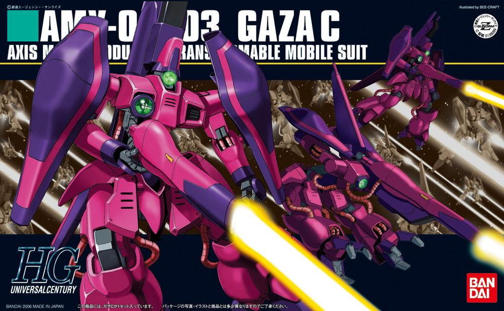 HGUC 1/144 AMX-003 ガザC