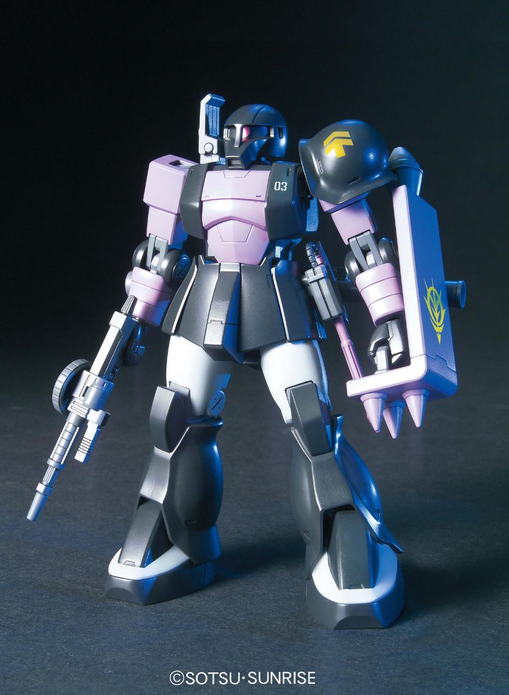 452HGUC 1/144 MS-05B ザクI 黒い三連星仕様 [Zaku I (Black Tri-Stars Type)]