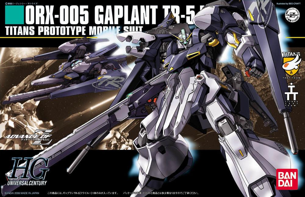 HGUC 1/144 ORX-005 ギャプランTR-5[フライルー] [Gaplant TR-5 'Hrairoo']
