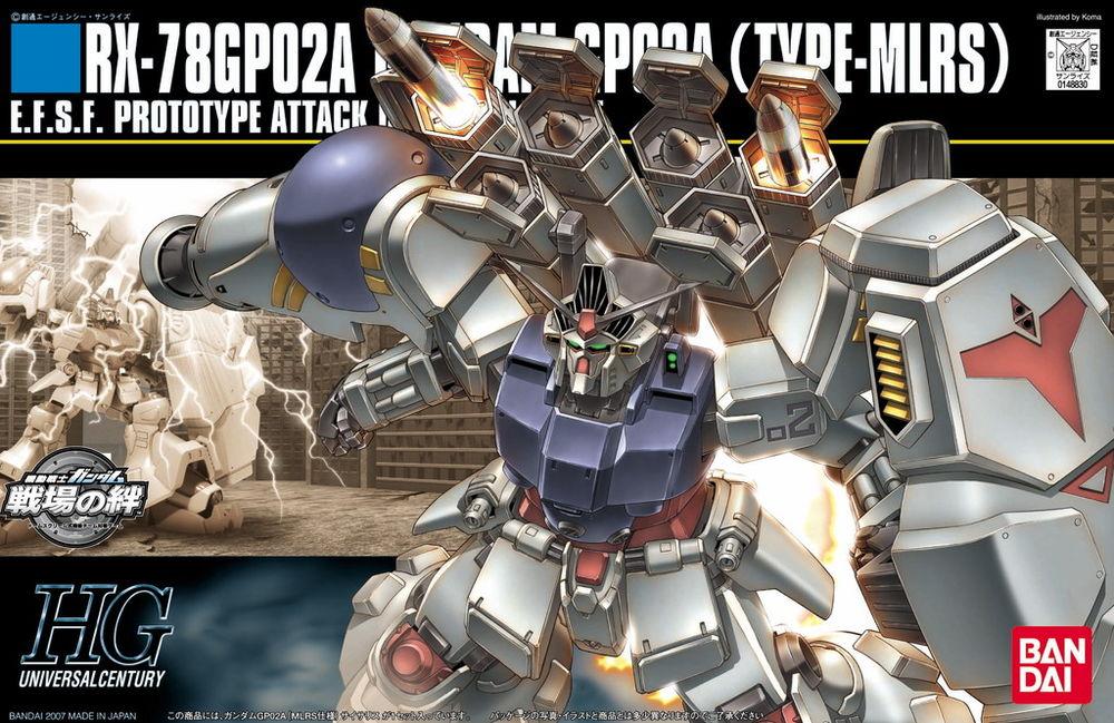 HGUC 1/144 RX-78GP02A ガンダムGP02A(MLRS仕様)サイサリス [Gundam GP02A (Type-MLRS)]