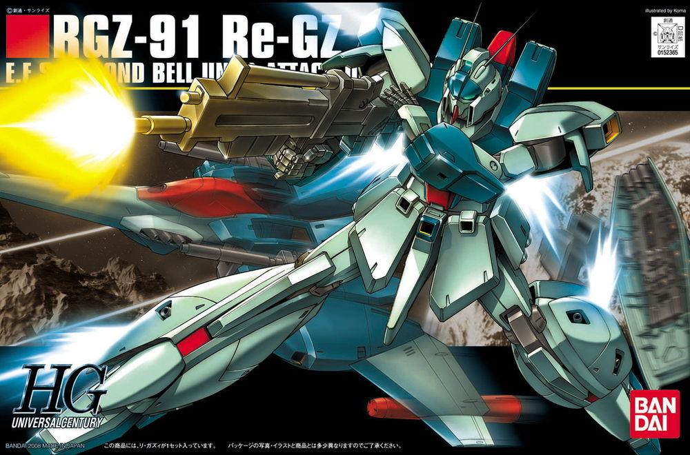HGUC 1/144 RGZ-91 リ・ガズィ [Re-GZ]