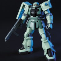 HGUC 105 1/144 MS-06F-2 ザクIIF2型 ジオン軍仕様 [Zaku II F2 (Zeon Version)] 公式画像1