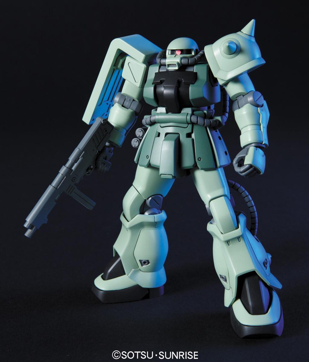 528HGUC 105 1/144 MS-06F-2 ザクIIF2型 ジオン軍仕様 [Zaku II F2 (Zeon Version)]