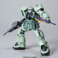 HGUC 105 1/144 MS-06F-2 ザクIIF2型 ジオン軍仕様 [Zaku II F2 (Zeon Version)] 公式画像3