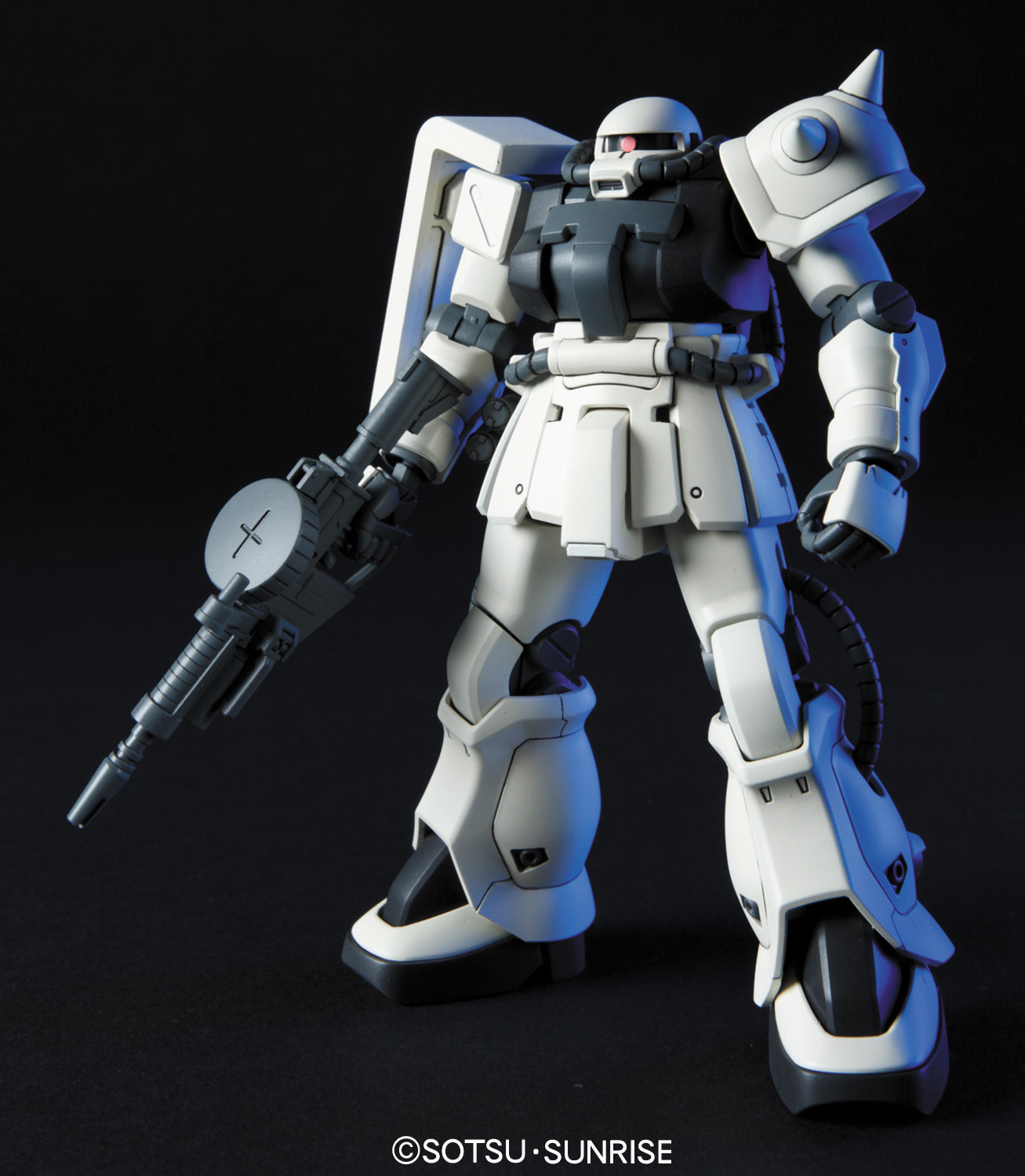 539HGUC 1/144 MS-06F-2 ザクIIF2型 連邦軍仕様 [Zaku II F2 (E.F.S.F Version)] 5057745 4573102577450 0162048 4543112620484