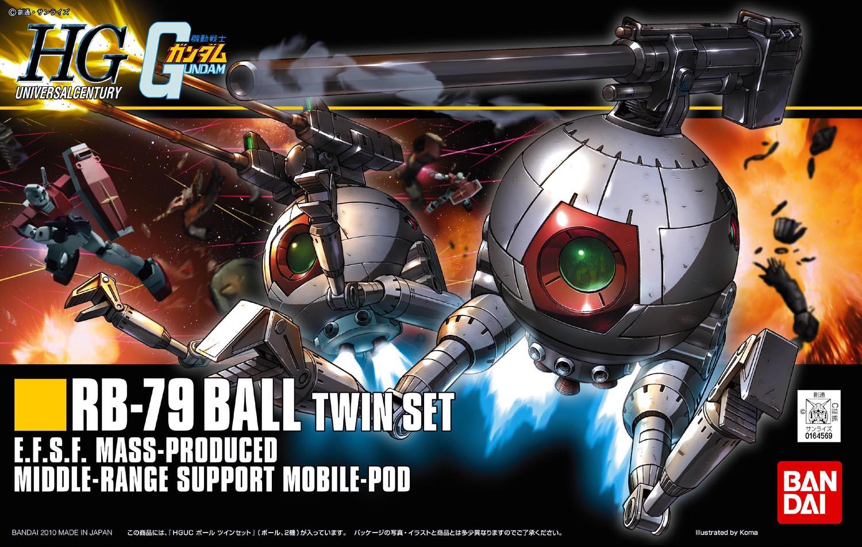 HGUC 1/144 RB-79 ボール ツインセット [Ball Twin Set] パッケージアート