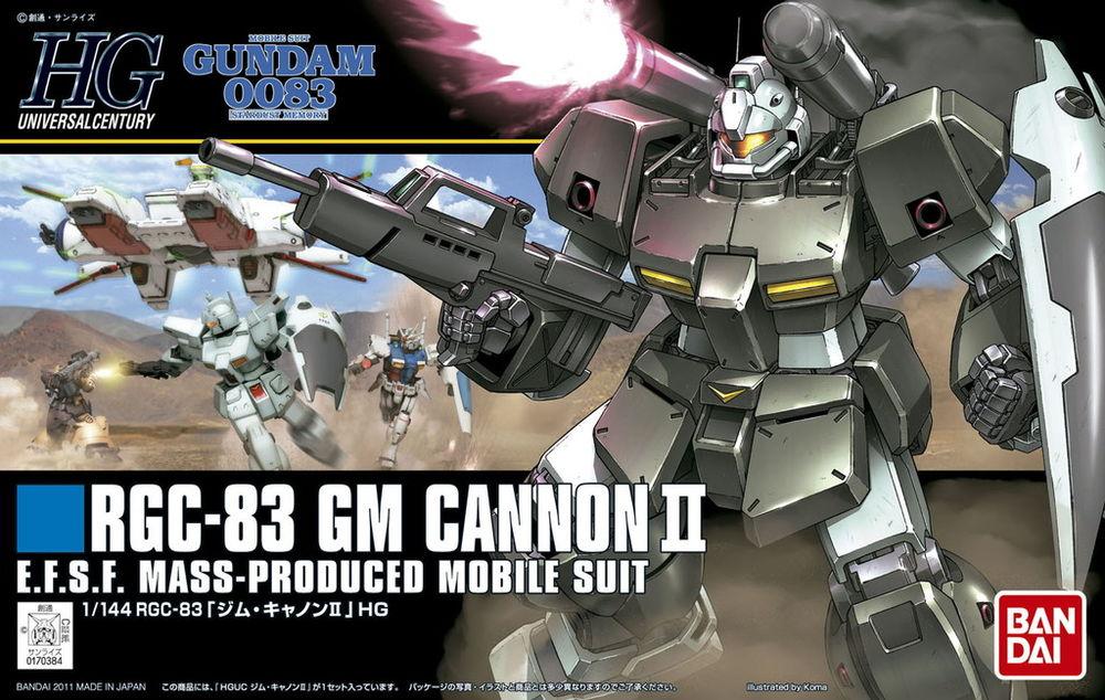 HGUC 1/144 RGC-83 ジム・キャノンII [GM Cannon II]