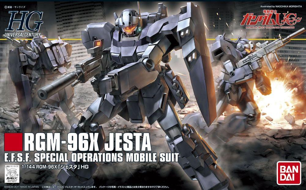 HGUC 1/144 RGM-96X ジェスタ [Jesta] 0171077 5057592