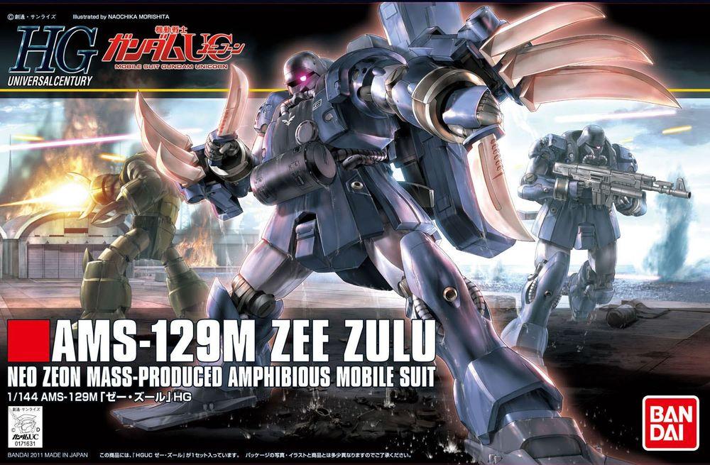 HGUC 1/144 AMS-129M ゼー・ズール [Zee Zulu]