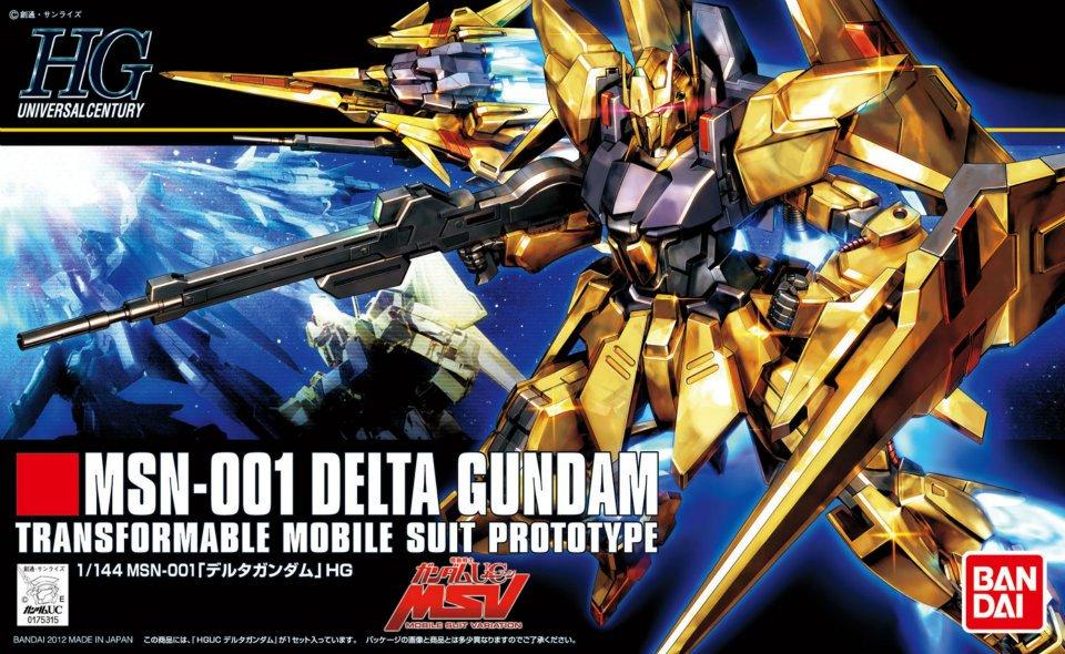 HGUC 1/144 MSN-001 デルタガンダム [Delta Gundam] 5060970 0175315 4543112753151 4573102609700
