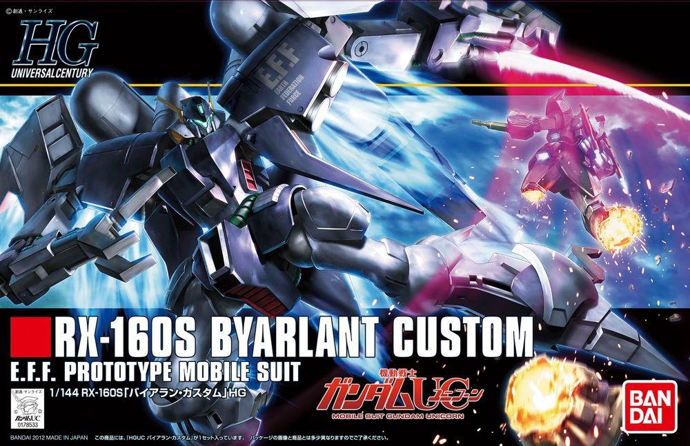 HGUC 1/144 RX-160S バイアラン・カスタム [Byarlant Custom] 5055609 0178533