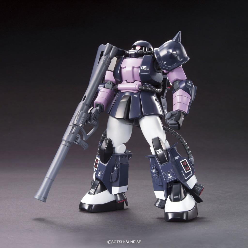 HGUC 1/144 MS-06R-1A 黒い三連星ザクII [Zaku II (Black Tri-Stars Custom)]