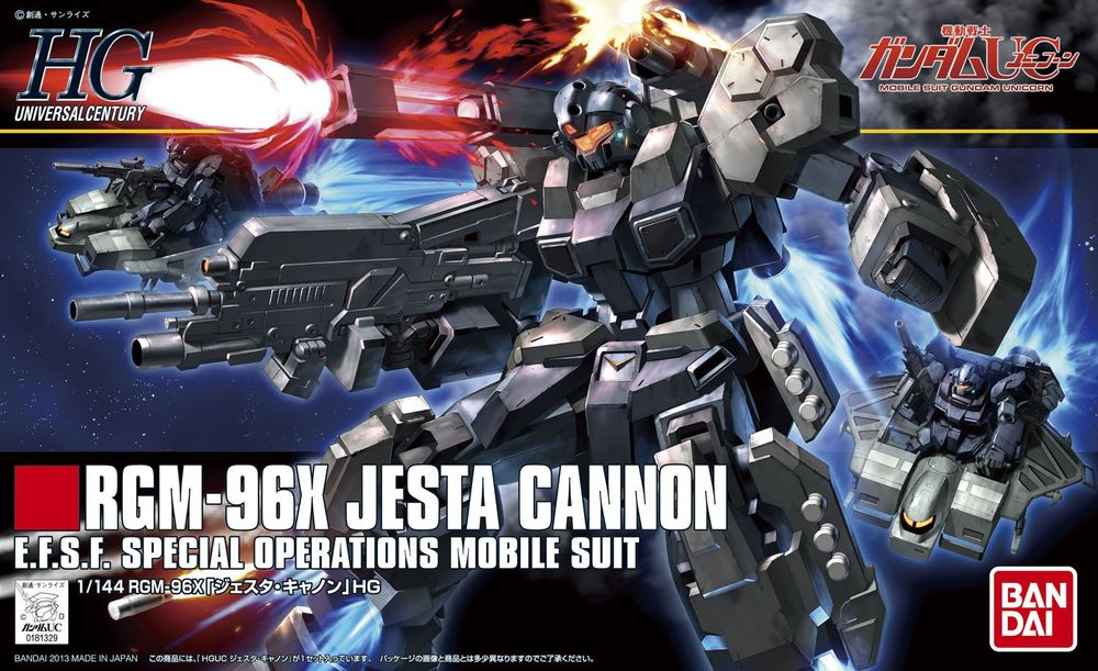 HGUC 1/144 RGM-96X ジェスタ・キャノン [Jesta Cannon] 0181329 5055751 4573102557513 4543112813299